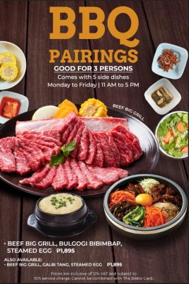 Bulgogi Brothers Best Premium Korean Barbeque Restaurant Manila Philippines